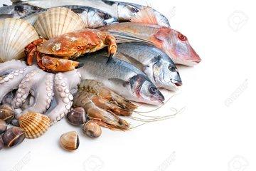 Vis en zeevruchten