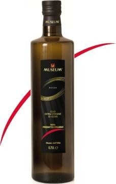 0.50 ltr MUSEUM RED label extra vergine olijfolie