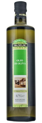 MUSEUM GREEN label olijfolie